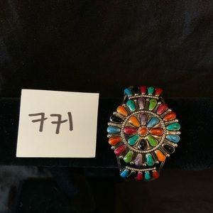 Jewelry - Multicolored Glass Cuff